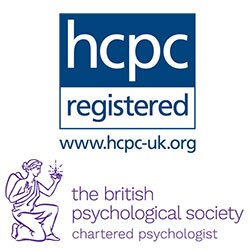 Chartered Psychologist and HPC Logos